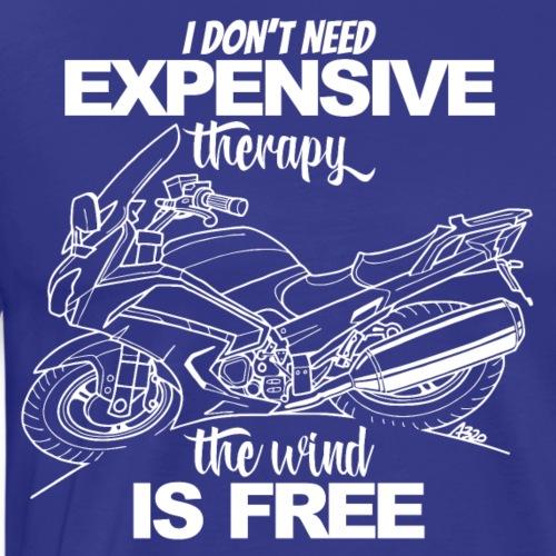 0881 FJR wind is free - Mannen Premium T-shirt