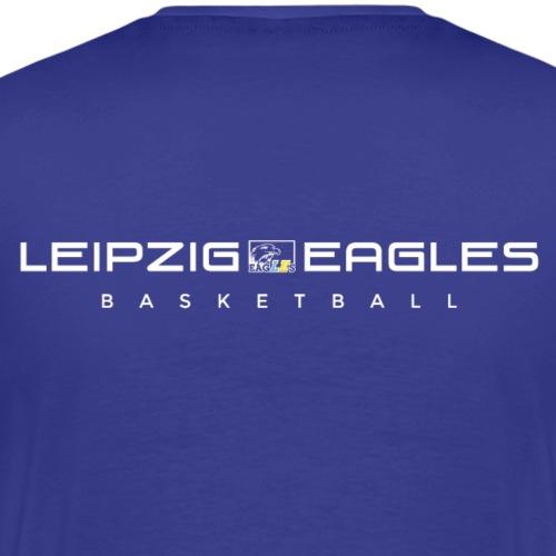 Eagles Schriftzug weiß - Männer Premium T-Shirt