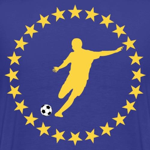 soccer football design 4 - Men's Premium T-Shirt