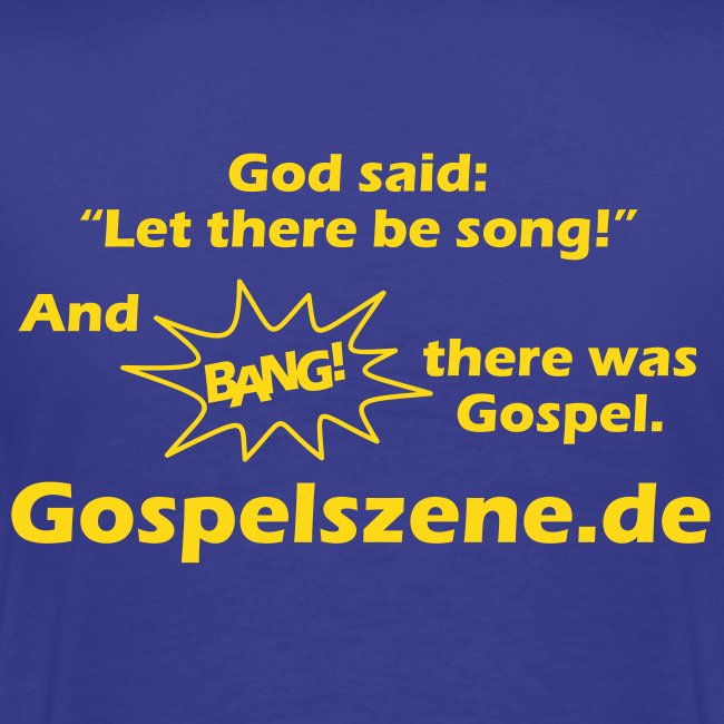 and bang there was gospel
