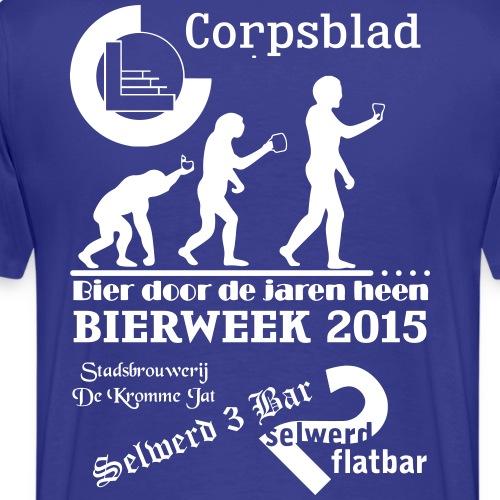 Bierweek 2015 - Mannen Premium T-shirt