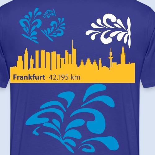 Frankfurt Marathon 42,195km - City Marathon FFM - Männer Premium T-Shirt