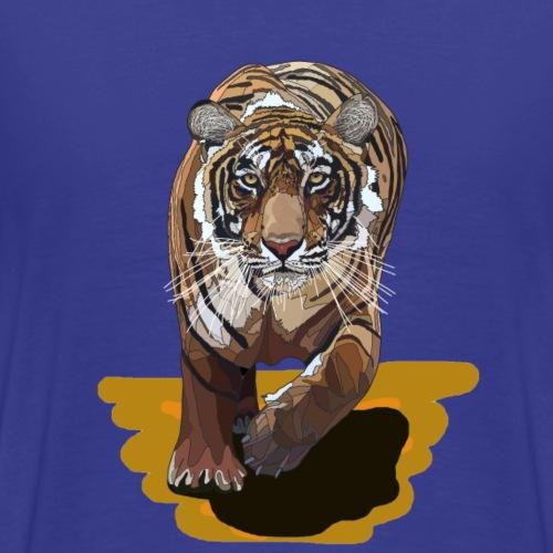 Tiger mit Hintergrund