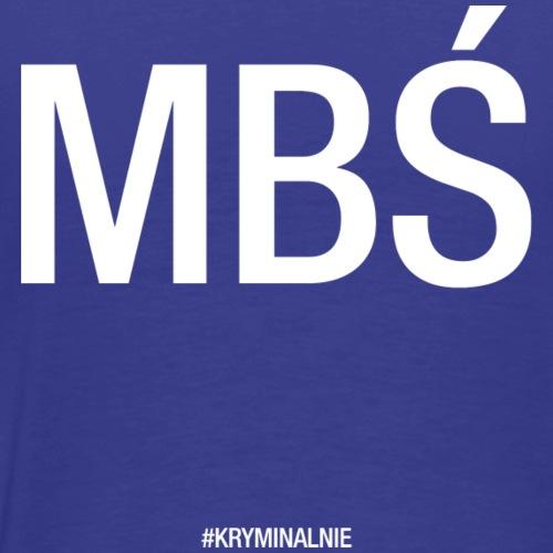 MBŚ duże - motyw jasny - Koszulka męska Premium