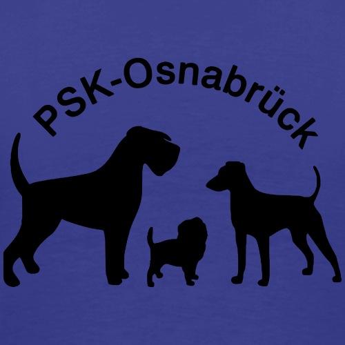 PSK-Logo Schwarz - Männer Premium T-Shirt