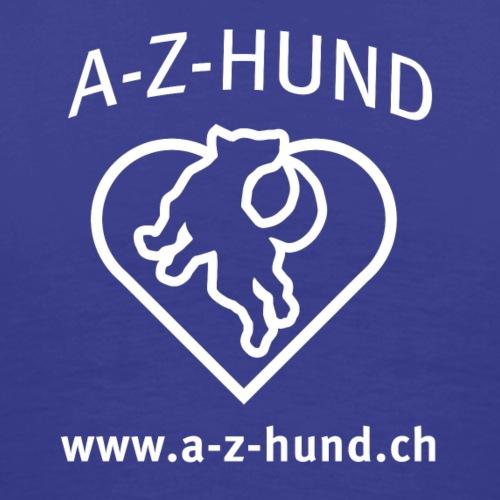 A-Z-Hund mit WWW - Männer Premium T-Shirt