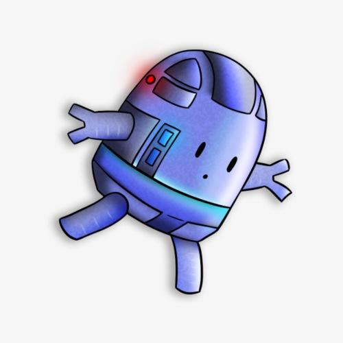 Baby Robot - T-shirt Premium Homme
