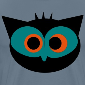 Crazy Owl - Men's Premium T-Shirt