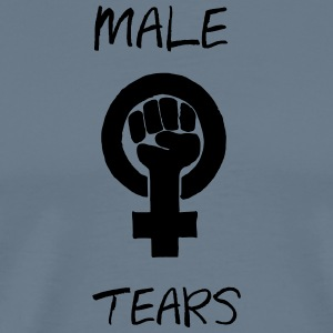 MALE TEARS COLLECTION - Herre premium T-shirt