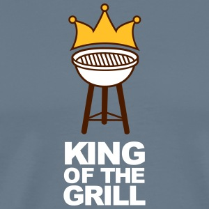 The King Of The Grill - Men's Premium T-Shirt