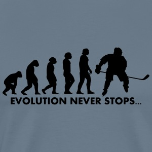 evolution never stops - Männer Premium T-Shirt