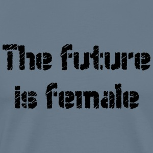 The furure is female - Men's Premium T-Shirt