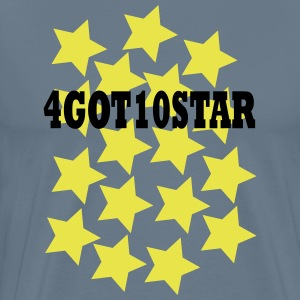 4GOT10STAR - Premium T-skjorte for menn