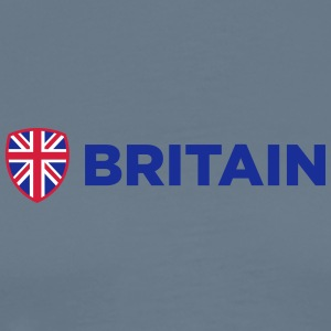National Flag Of Britain - Herre premium T-shirt