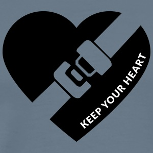 Keep your heart - Men's Premium T-Shirt