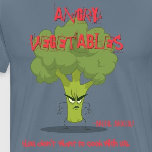 brutal broccoli - Men's Premium T-Shirt