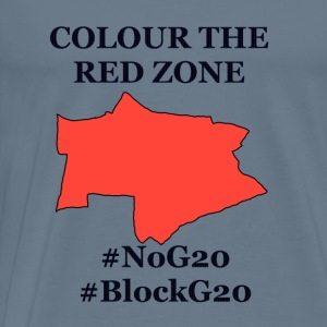 Colour the red Zone - Männer Premium T-Shirt