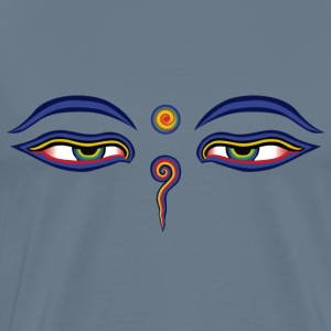 Buddha Eyes - Men's Premium T-Shirt