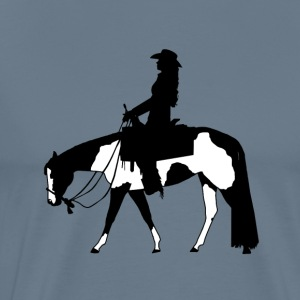 genoegen riding - Mannen Premium T-shirt