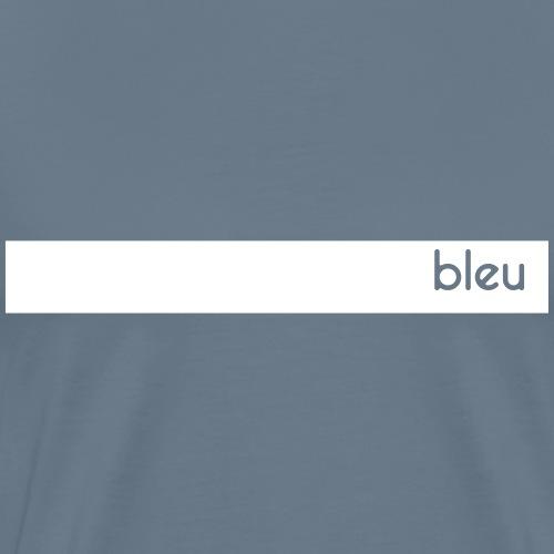 Bandeau bleu - Personnalisable - T-shirt Premium Homme