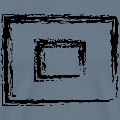 Wegzeichen 10' Warten - Kreide - Farbe wählbar - Männer Premium T-Shirt