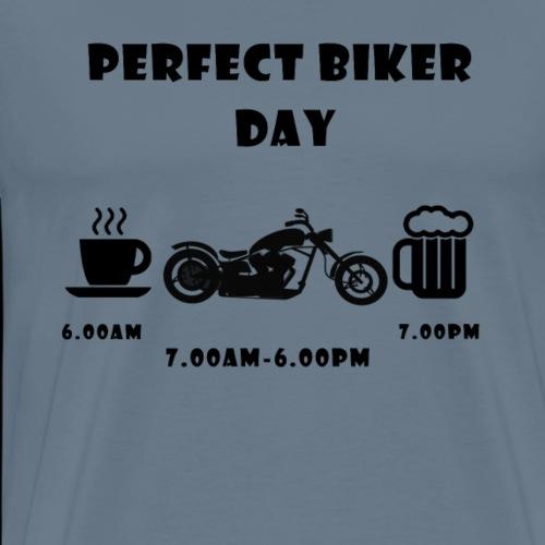 Perfect day chopper black - Männer Premium T-Shirt