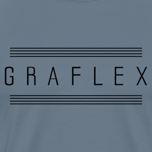 graflex with stripes - Männer Premium T-Shirt