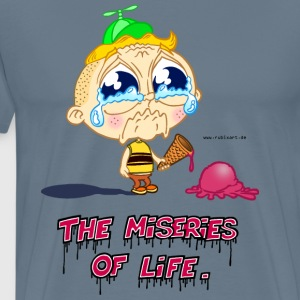 The Miseries of Life - Männer Premium T-Shirt
