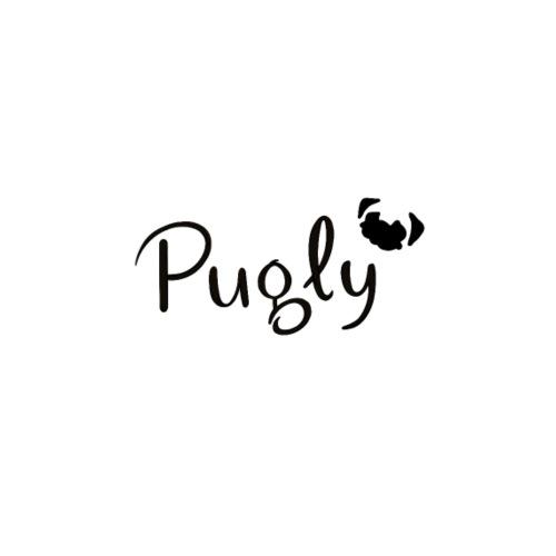 Pugly Logo - Premium-T-shirt herr