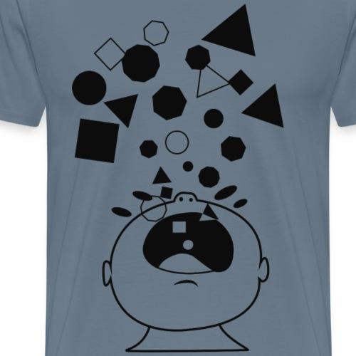Grito geometrico - Camiseta premium hombre