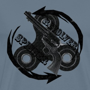 Revolver Spinner Retro - Men's Premium T-Shirt