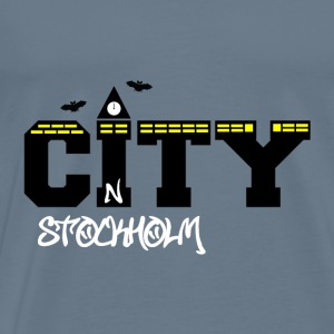 Stockholm city - Men's Premium T-Shirt