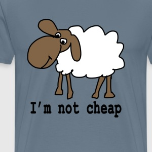 I am not cheap - Men's Premium T-Shirt