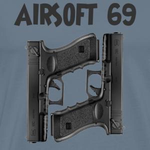 Airsoft 69 - Mannen Premium T-shirt