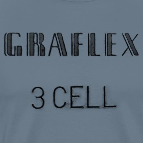 Graflex 3Cell - Männer Premium T-Shirt