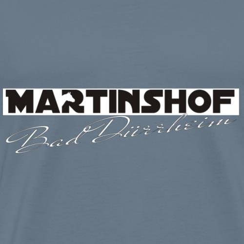 Logo Martinshof weiße Schrift - Männer Premium T-Shirt