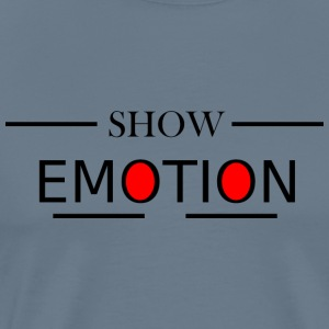 Show Emotion - Männer Premium T-Shirt