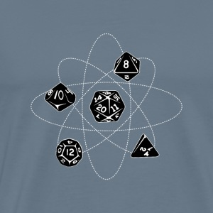 Atom dice - Men's Premium T-Shirt
