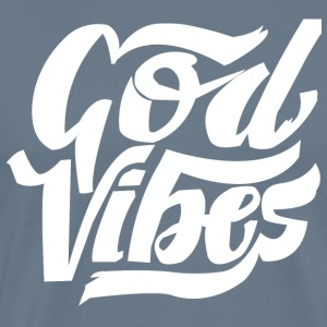 GOD VIBES - Premium T-skjorte for menn