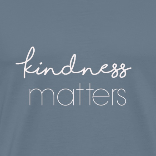 KindnessMatters - Premium-T-shirt herr