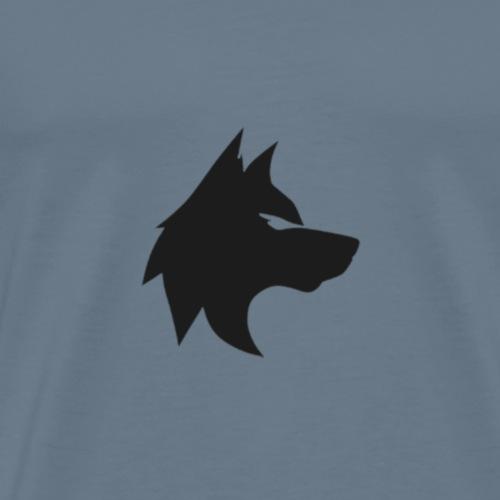 La mejor mirada del lobo - Camiseta premium hombre