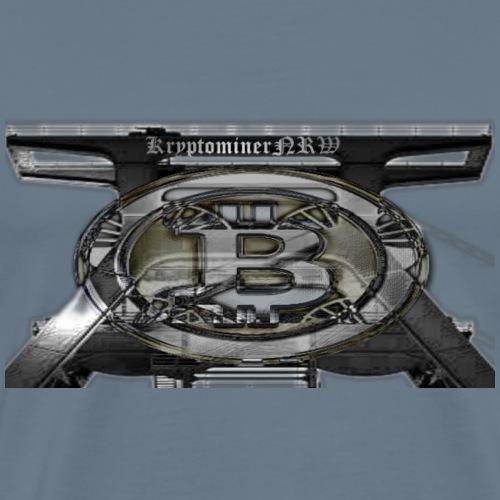 KNRW Bitcoin Förderturm - Männer Premium T-Shirt