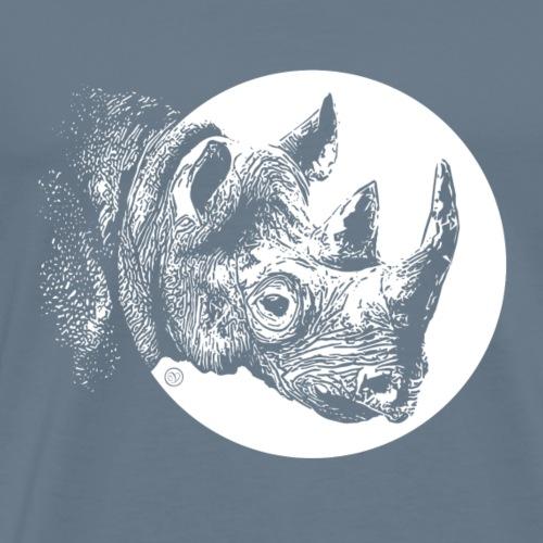 Rettet die Nashörner - Männer Premium T-Shirt