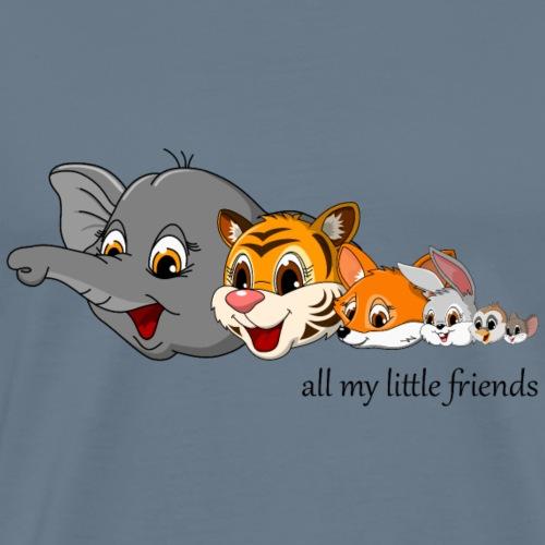 lorey.w all my little friends, Mädchen - Männer Premium T-Shirt