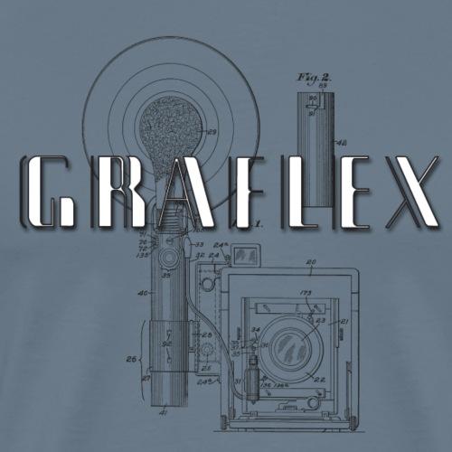 Graflex patent - Männer Premium T-Shirt