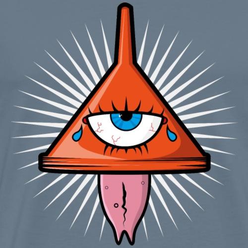 Illuminati Logo - T-shirt Premium Homme