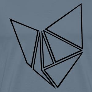 tête de chat graphique - T-shirt Premium Homme