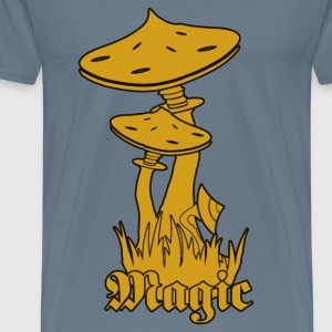 Magic Mushrooms - Mannen Premium T-shirt