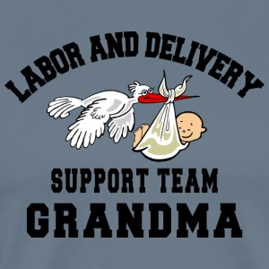 Mormor Labor Delivery Support Team - Premium-T-shirt herr