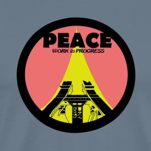 PEACE Work in Progress - Men's Premium T-Shirt